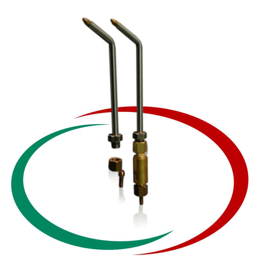 Горелка за газопламъчна работа с водородо кислороден газ